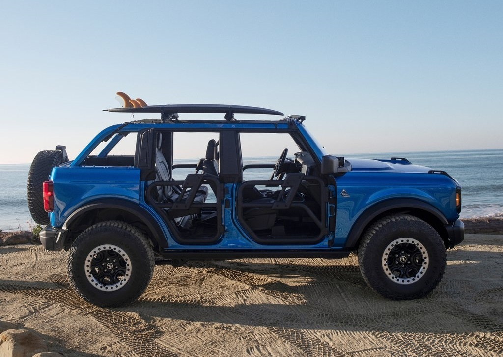 2021 Ford Bronco Riptide Concept