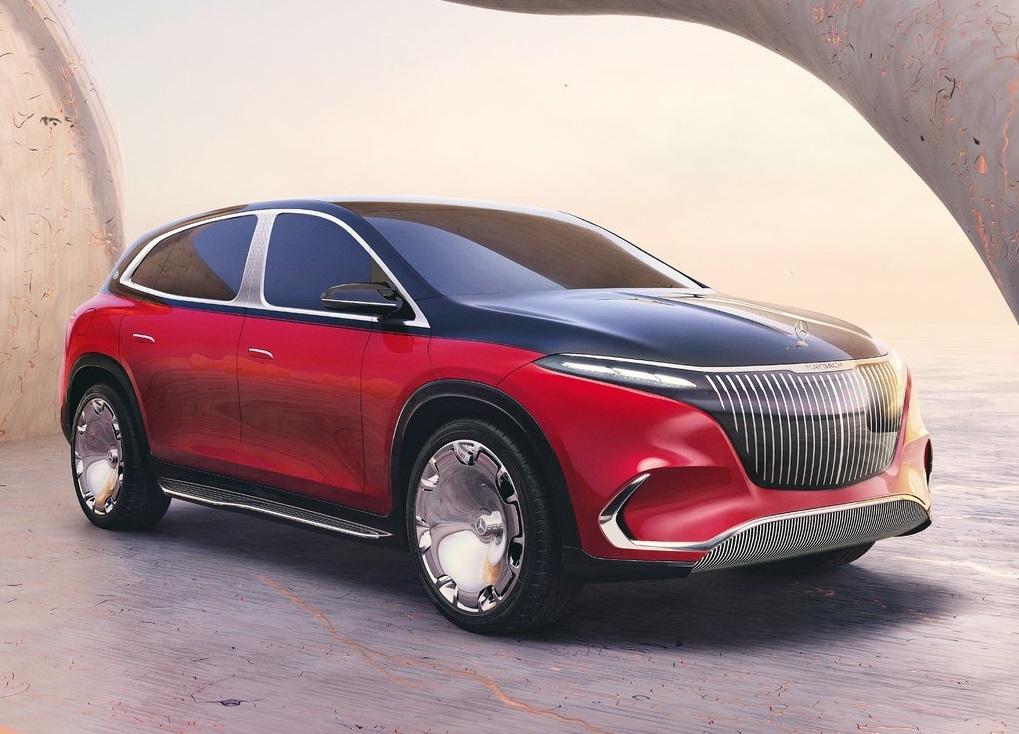 2022 Mercedes-Benz Maybach EQS SUV Concept