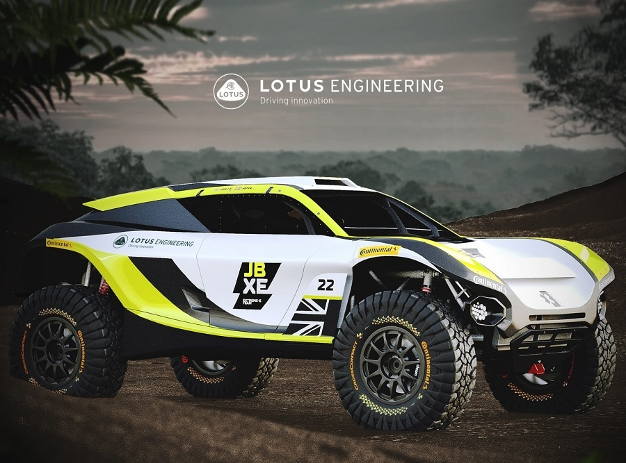 Lotus Engineering and JBXE Racing Join Forces in Extreme e-Technical Partnership