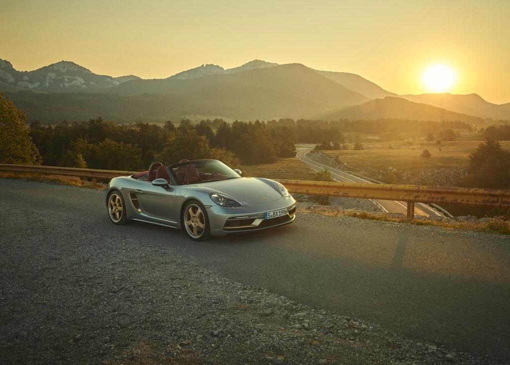 2021 Porsche Boxster 25 Years Edition