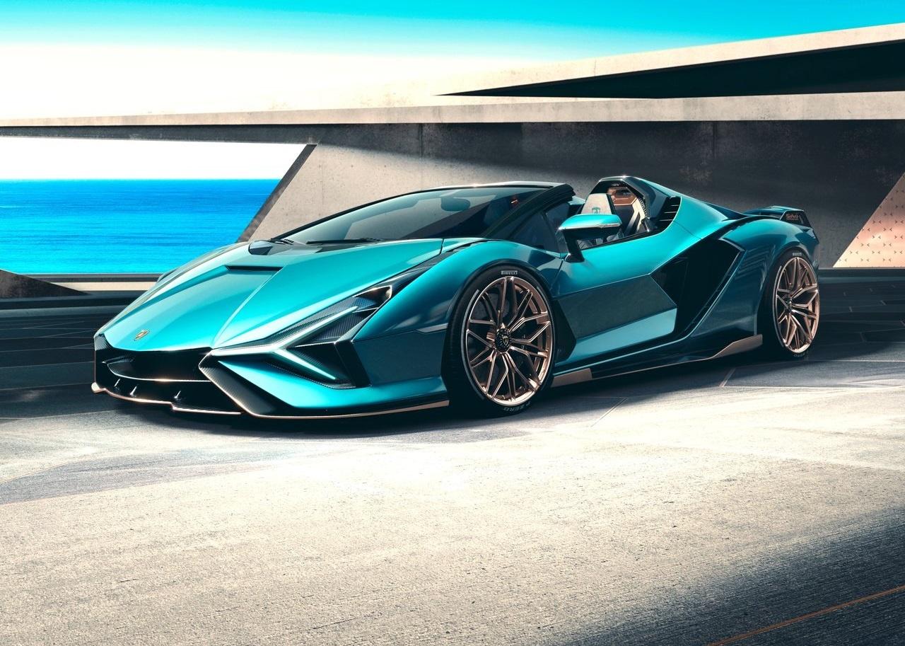 2022 Lamborghini Sian Roadster