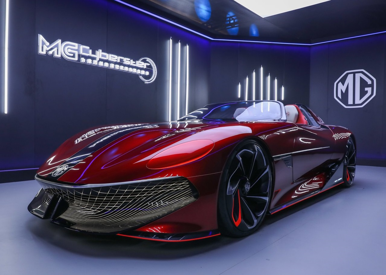 2022 MG Cyberster Concept
