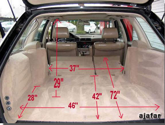 Bmw 3 Series Touring Boot Internal Dimensions