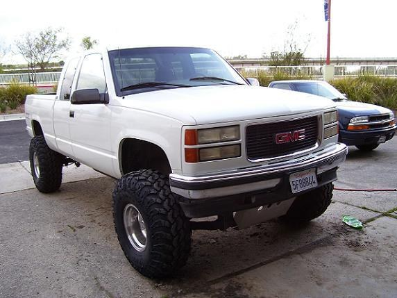 Lifted_gmc_95 1995 GMC Sierra 1500 Regular Cab Specs