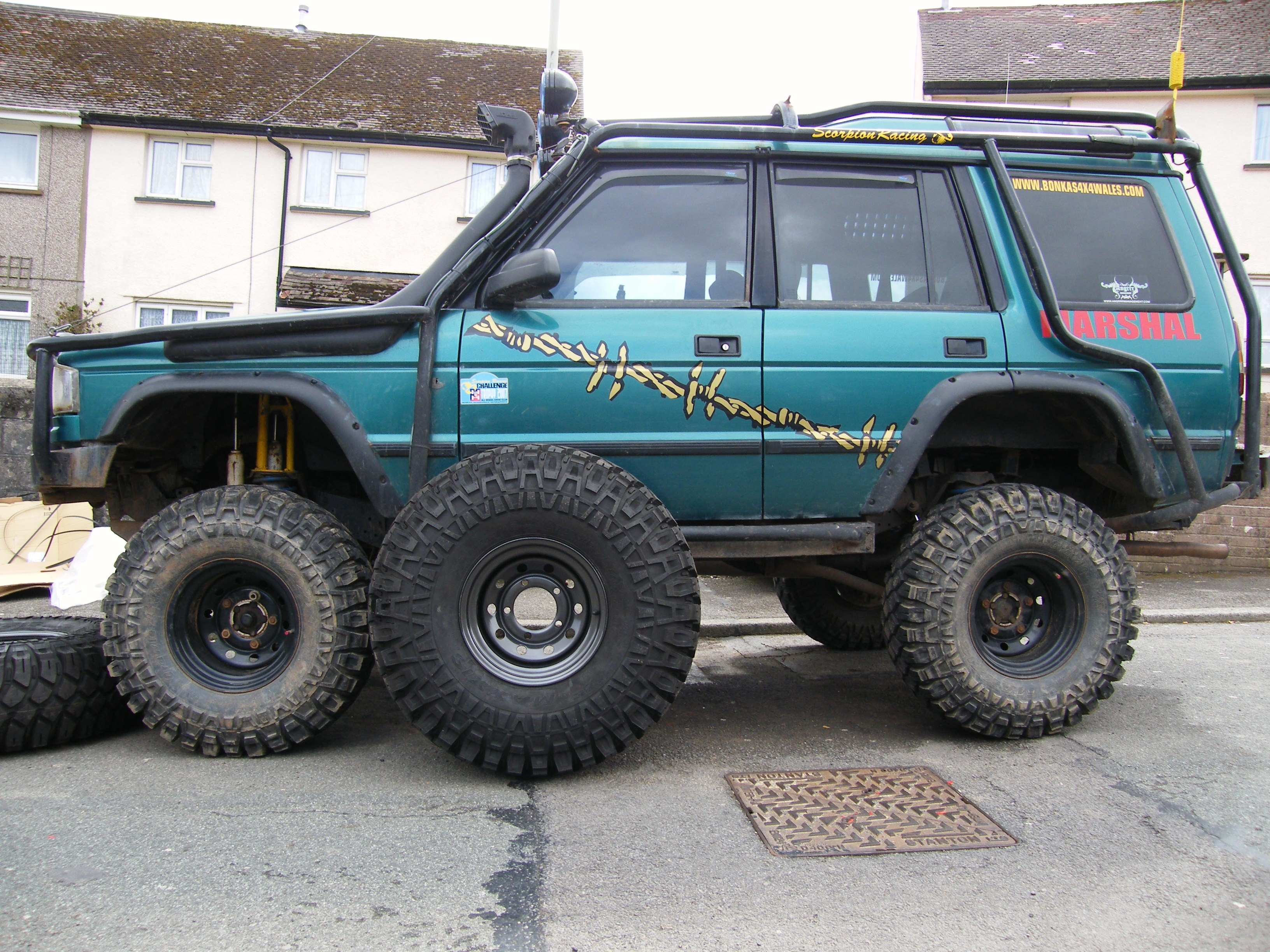 tonyakv 1996 Land Rover Discovery Specs s Modification Info