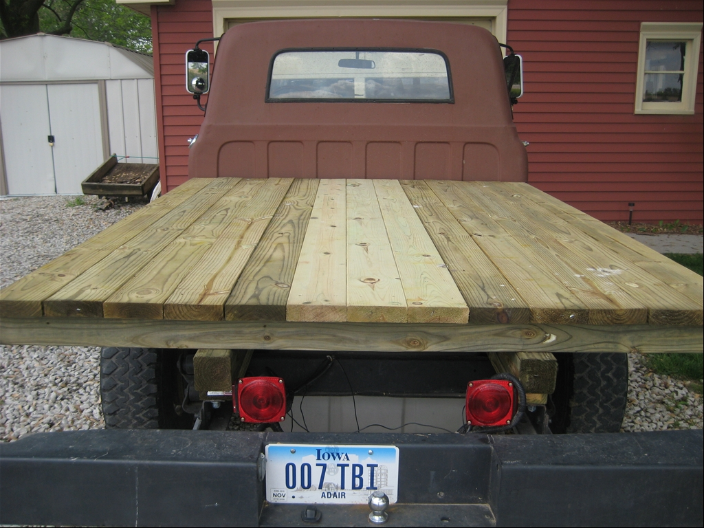 How To Build A Wood Flatbed For A Pickup Truck Plant02eol