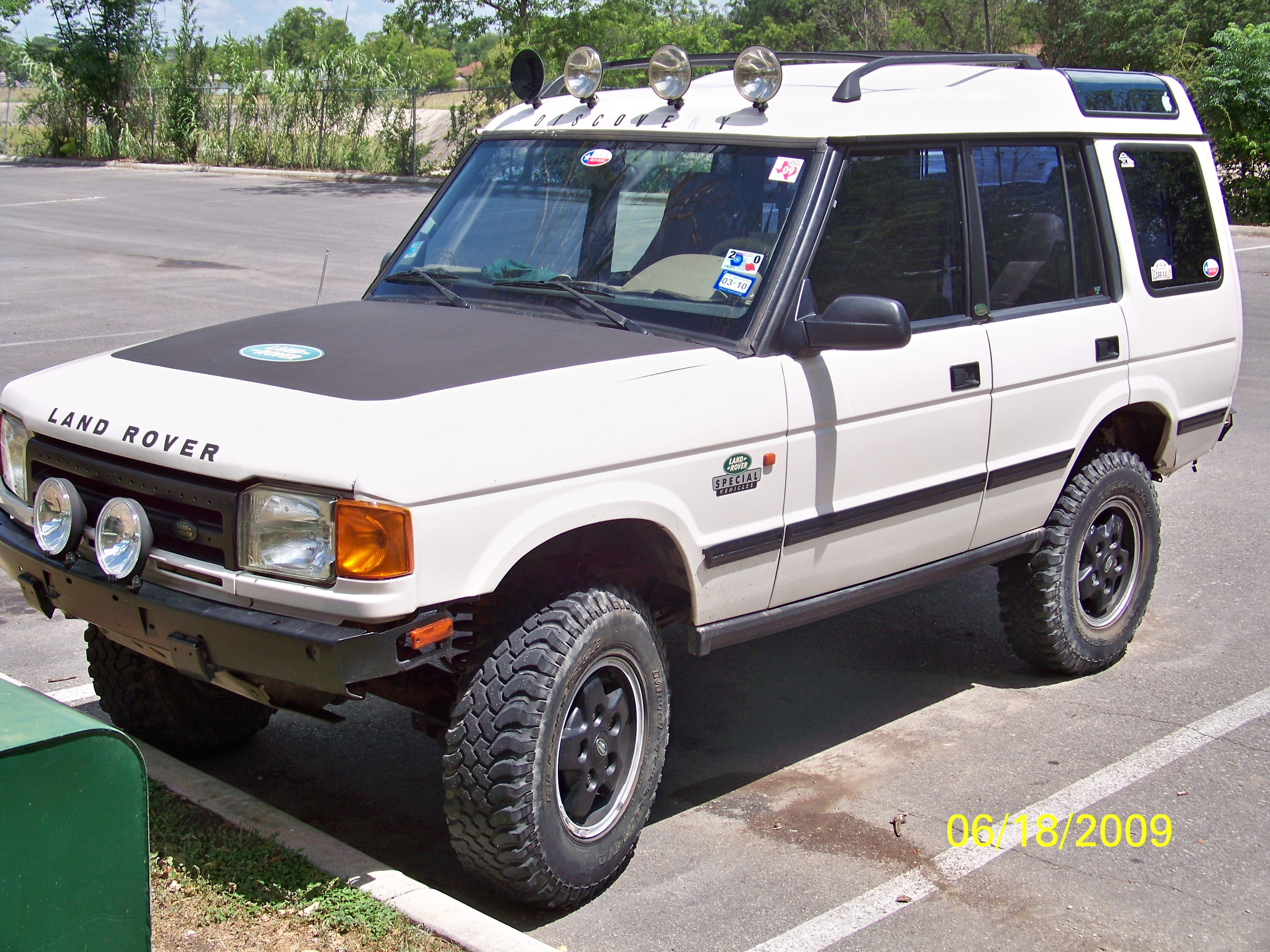 alexcivick 1996 Land Rover Discovery Specs s Modification