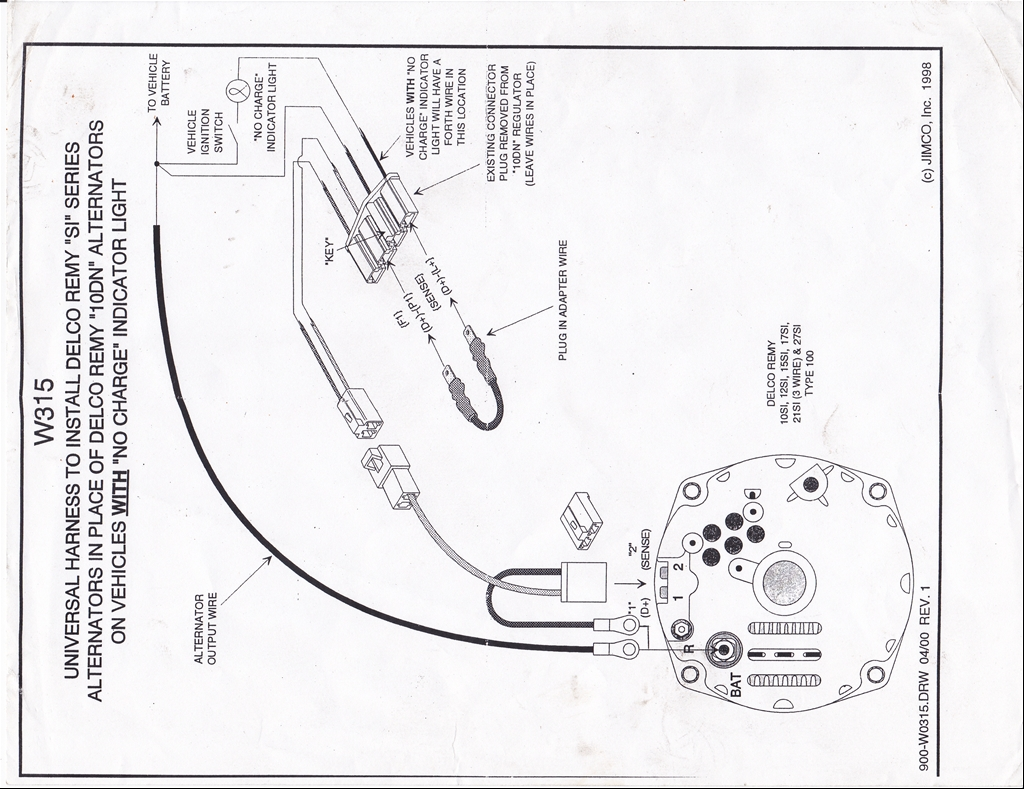 Chevy Voltage Regulator Wiring Diagram Moreover