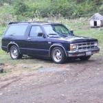 Tm1987 1988 Chevrolet S10 Blazer Specs Photos Modification Info At Cardomain
