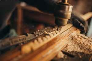 wood people dark industry