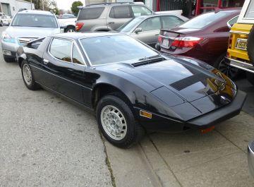 1981 Maserati Merak SS Black
