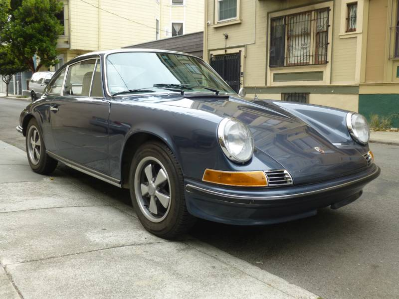 1969 Porsche 912 Sunroof Coupe Blue Metallic