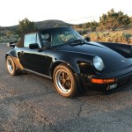 1989 Porsche 930 Cabriolet Black