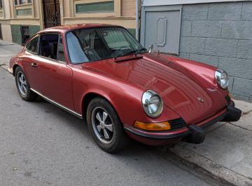 1973 Porsche 911T Coupe Olive