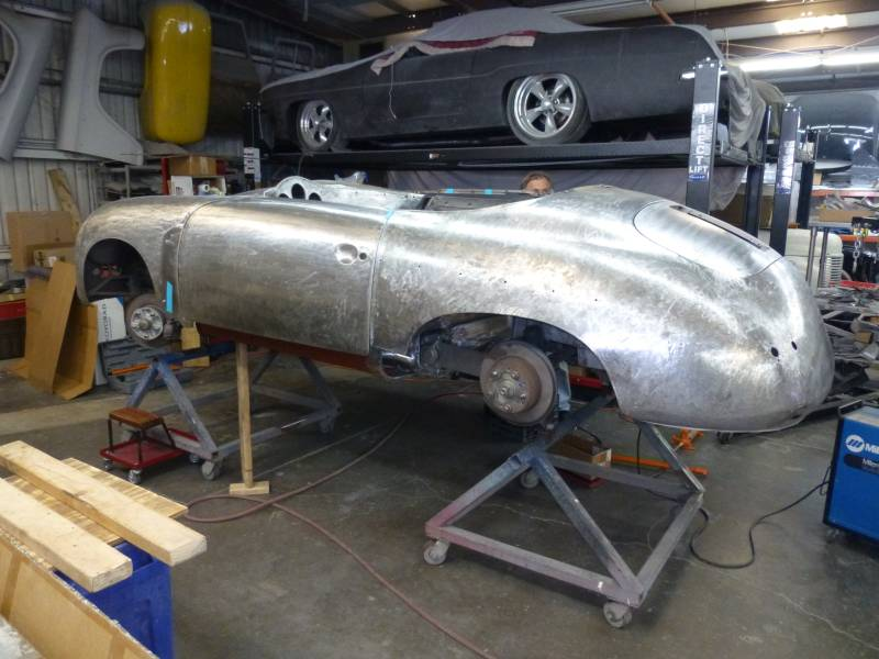 1956 Porsche 356A Speedster Project
