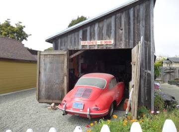 1963 porsche 356b super coupe red barn find
