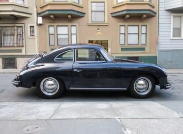 1956 Porsche 356A Coupe Blue