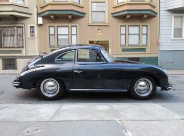 1956 Porsche 356A Coupe Blue