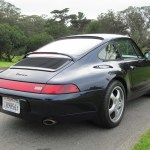 1995 porsche 993 c2 coupe midnight blue metallic