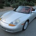 1998 Porsche Boxster Arctic Silver Low Mileage