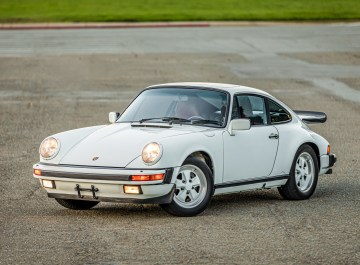 1988 Porsche 911 Carrera Coupe GP White