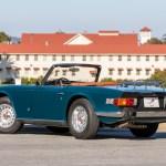 1974 triumph tr6 mallard blue