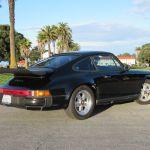 1985 porsche 911 carrera coupe black