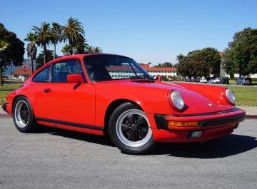 1989 Porsche 911 Carrera Guards Red