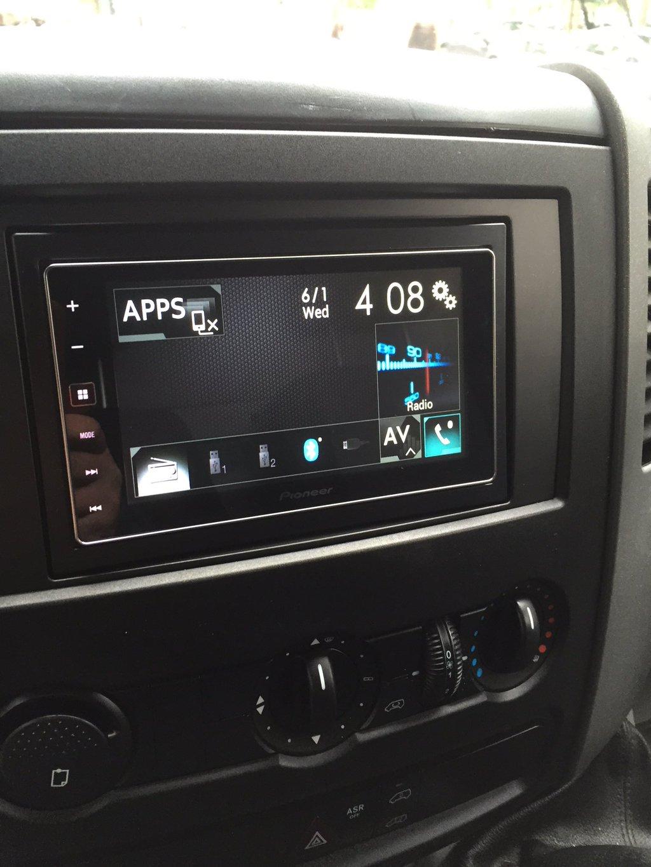 CarPlay Installs: Pioneer SPH-DA120 in a Mercedes Sprinter – CarPlay