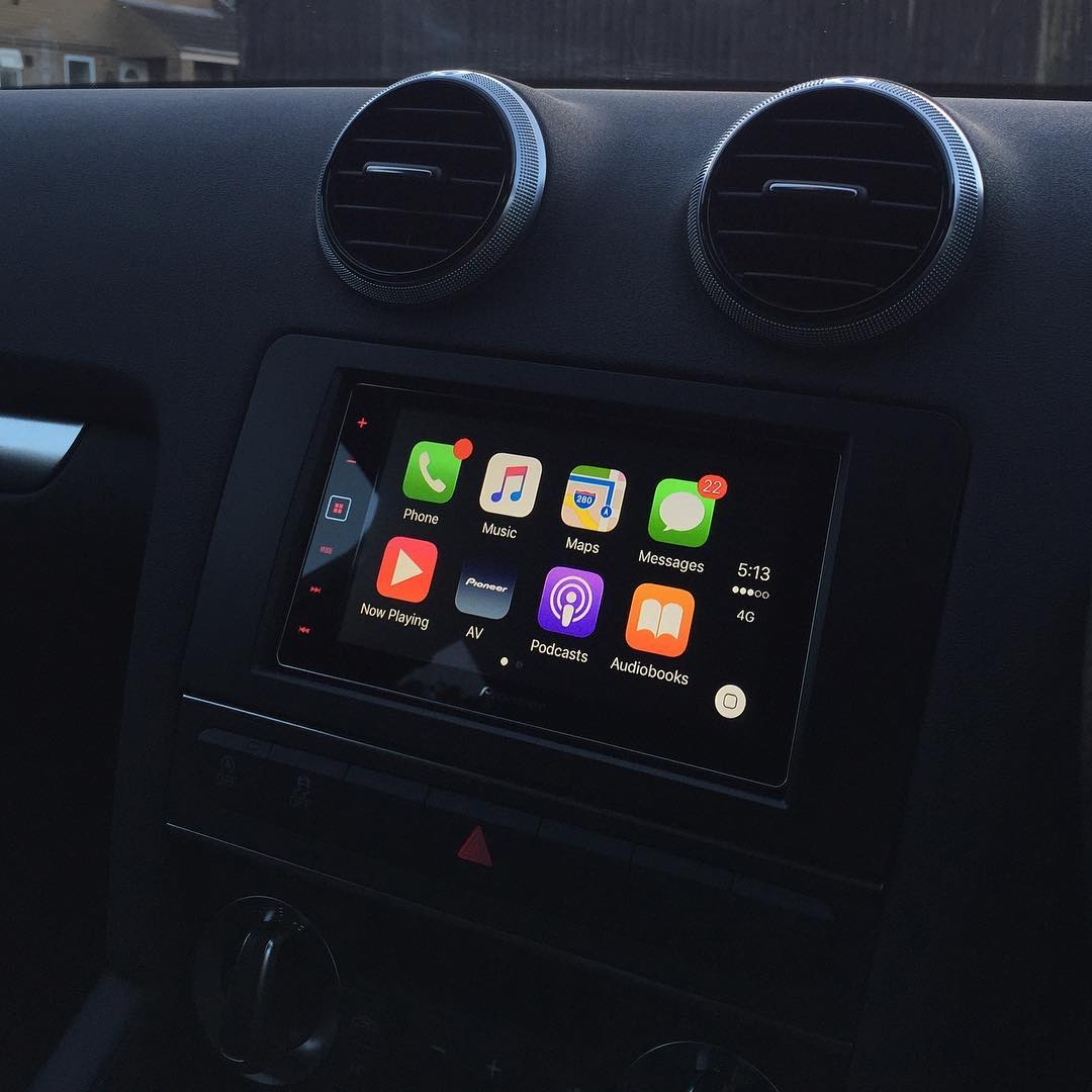 CarPlay Installs: Pioneer SPH-DA120 in an Audi A3 – CarPlay