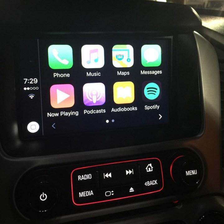 GMC Yukon CarPlay