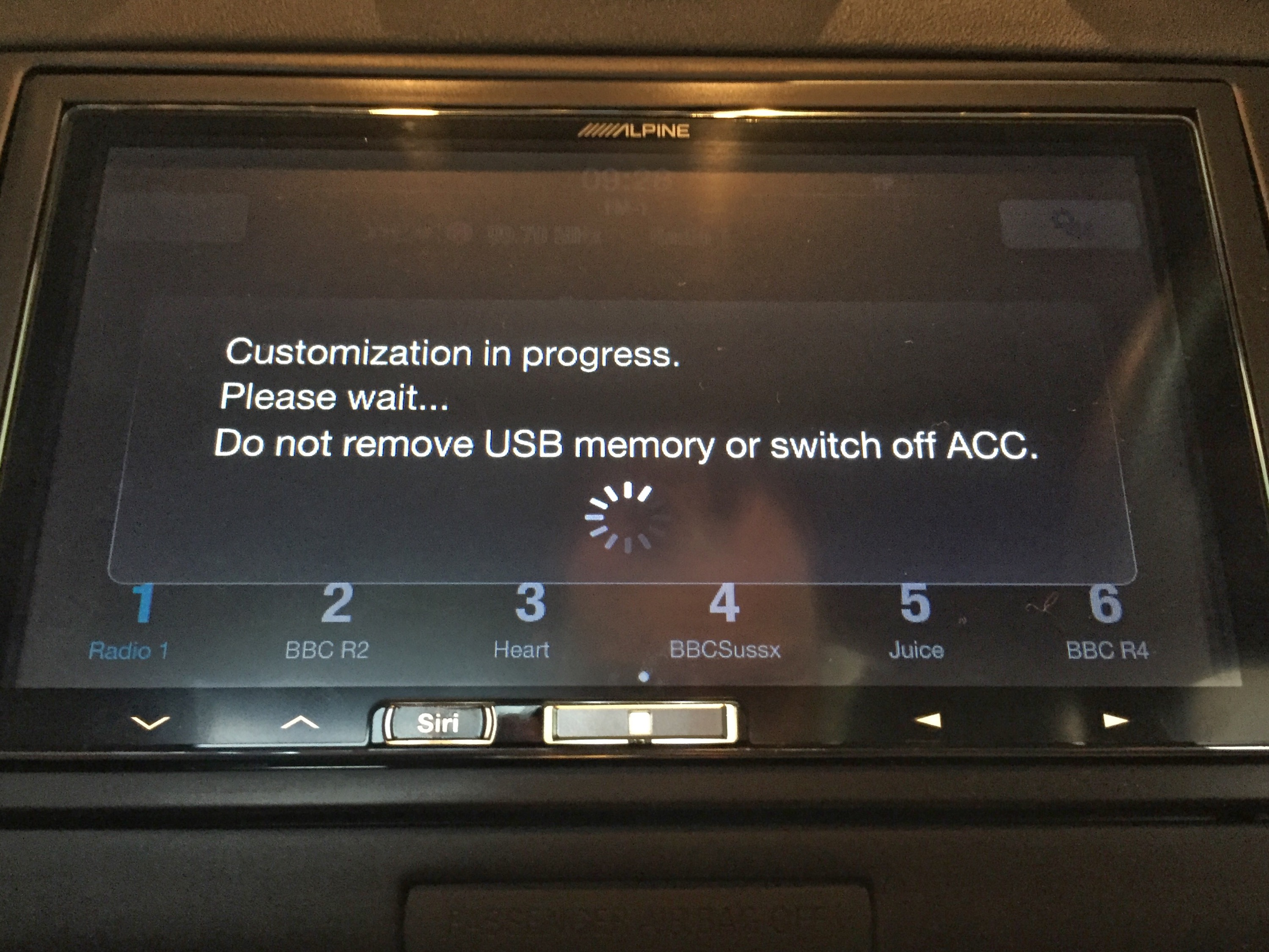How to: Install A Custom Launch Screen In An Alpine iLX-700