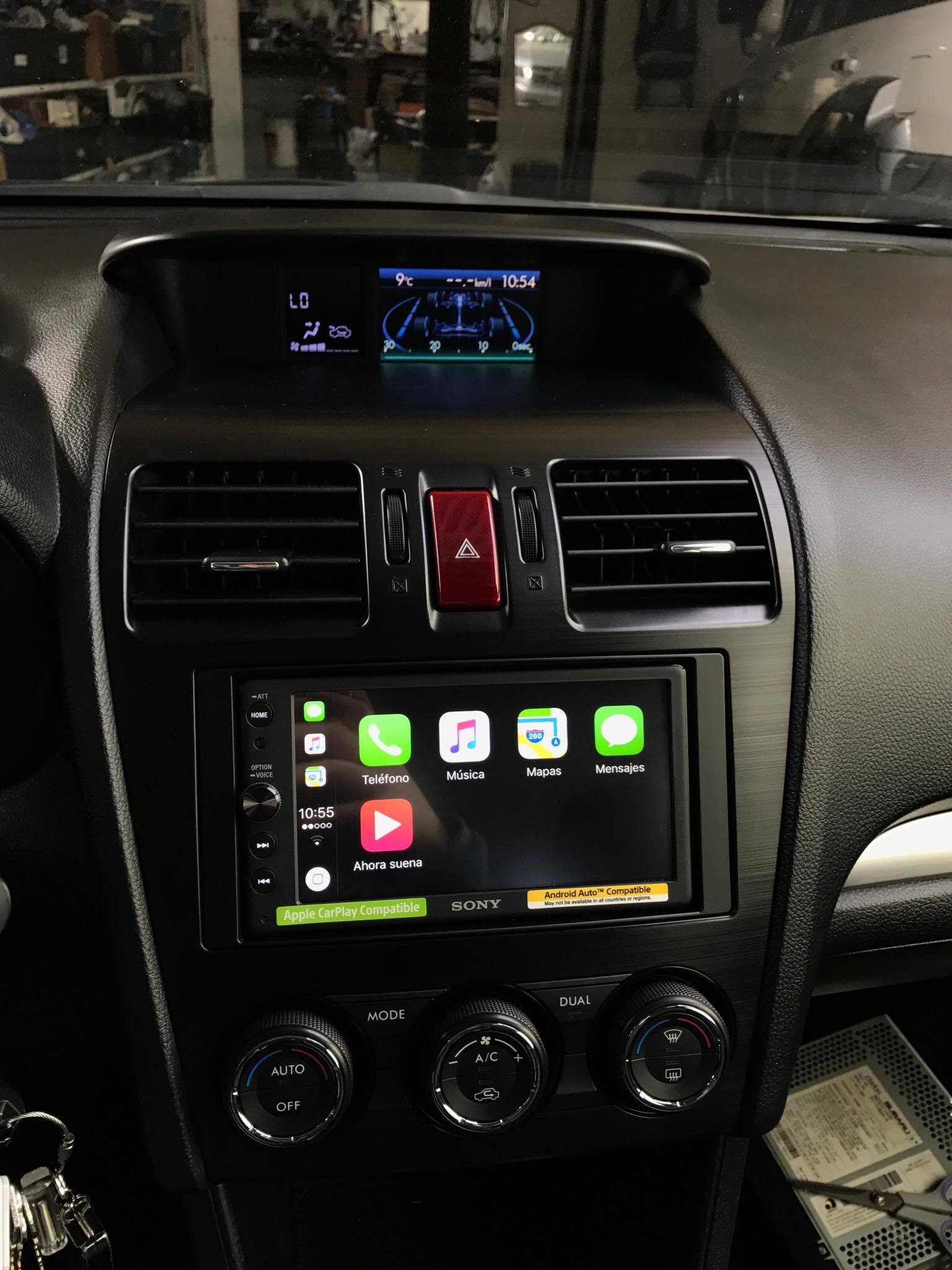 CarPlay Installs: Sony XAV-AX100 in a Subaru Crosstrek