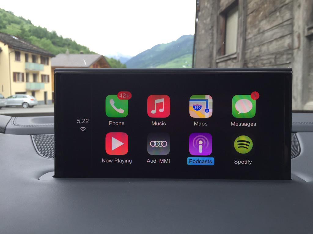 Audi Q7 Apple CarPlay Demo Video – CarPlay Life – Apple