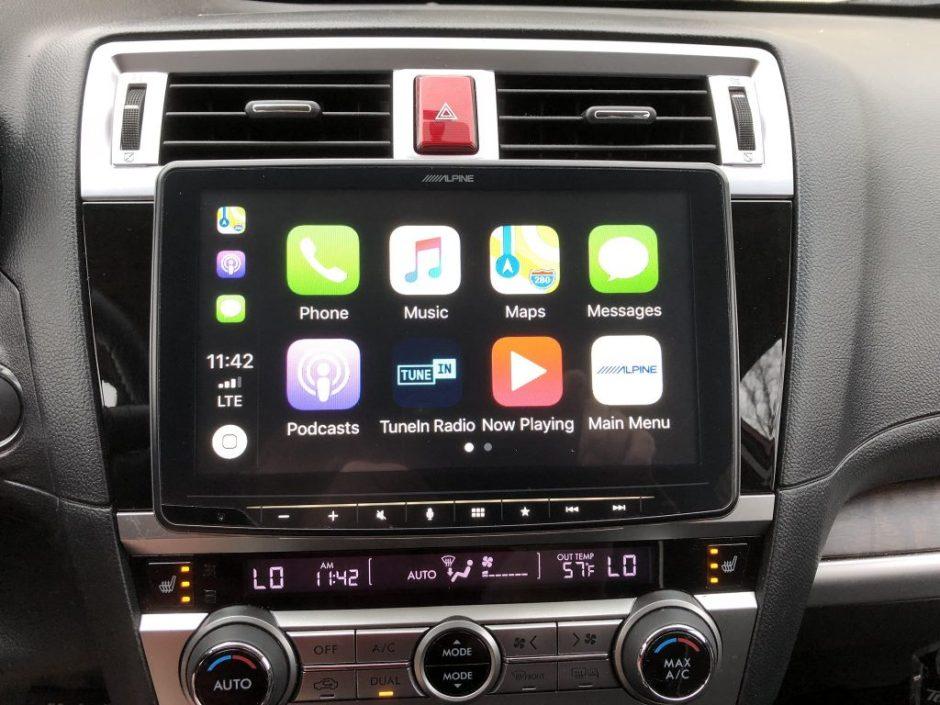 CarPlay Installs: Alpine iLX-F309 in a 2016 Subaru Outback – CarPlay