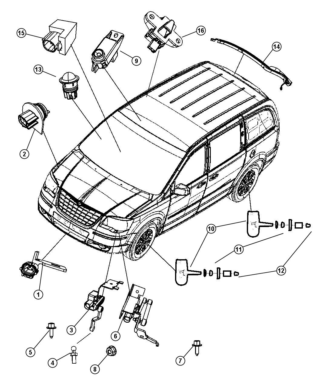 [OAMC_7322] 2003 Chrysler Town And Country Wiring Diagram