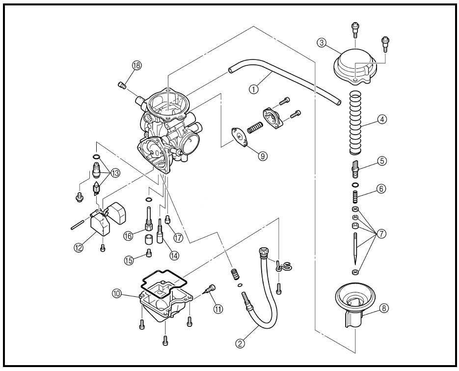1995 yamaha kodiak 400 carb problem yamaha atv forum within yamaha kodiak 400 parts diagram?resize=840%2C678&ssl=1 2006 yamaha kodiak 450 parts diagram periodic & diagrams science Kodiak 400 Service Manual at metegol.co