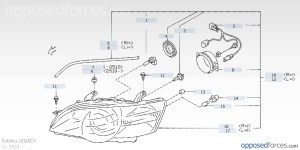 2001 Subaru Outback Parts Diagram | Automotive Parts