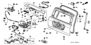 2005 Honda Pilot Parts Diagram | Automotive Parts Diagram