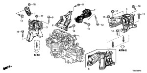 2012 Honda Civic Parts Diagram | Automotive Parts Diagram