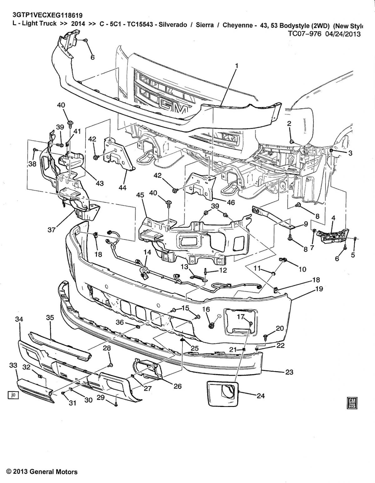 Gm Parts Diagrams With Part Numbers