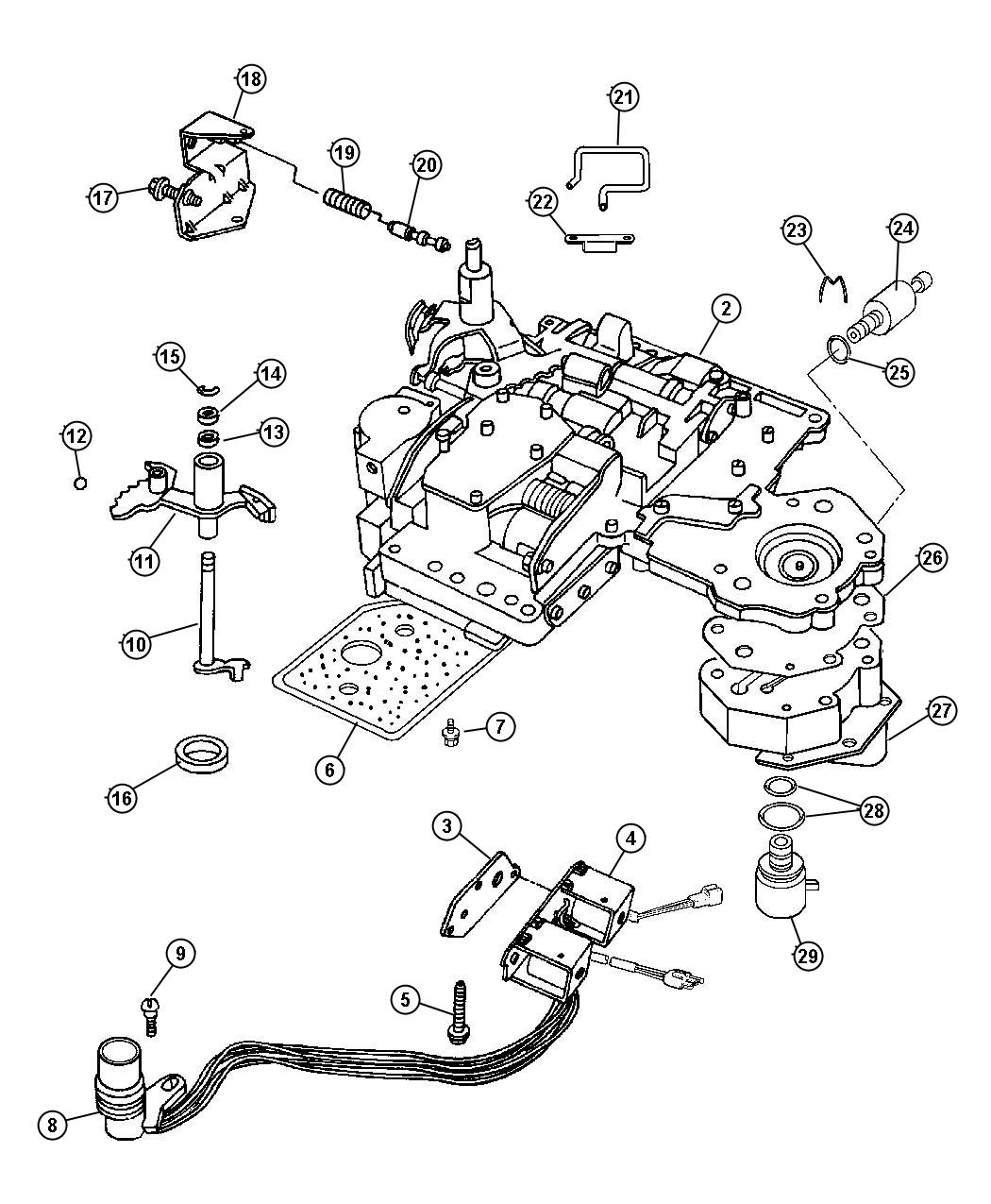 dodge ram parts diagram
