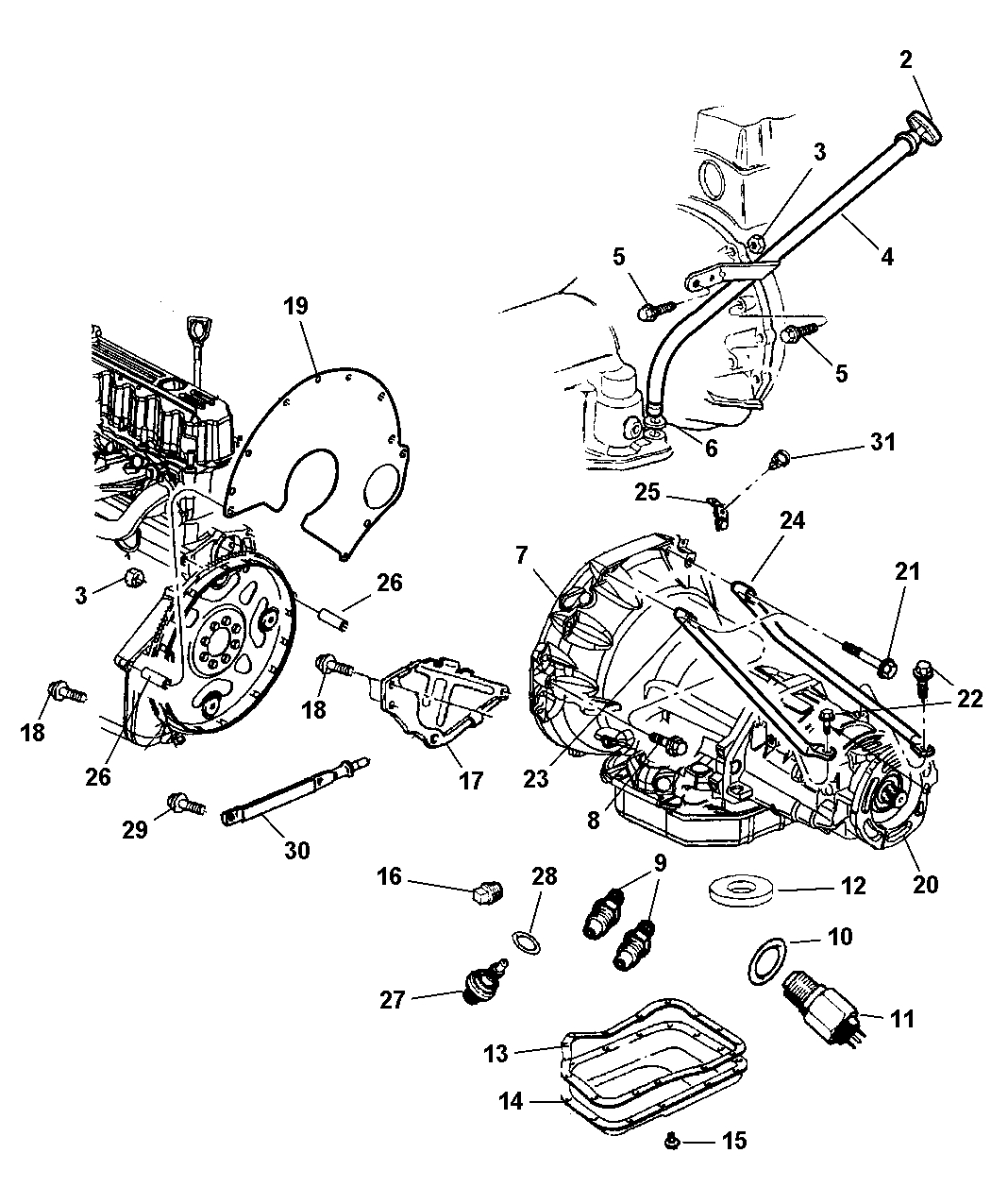 Jeep Wrangler Engine Diagram