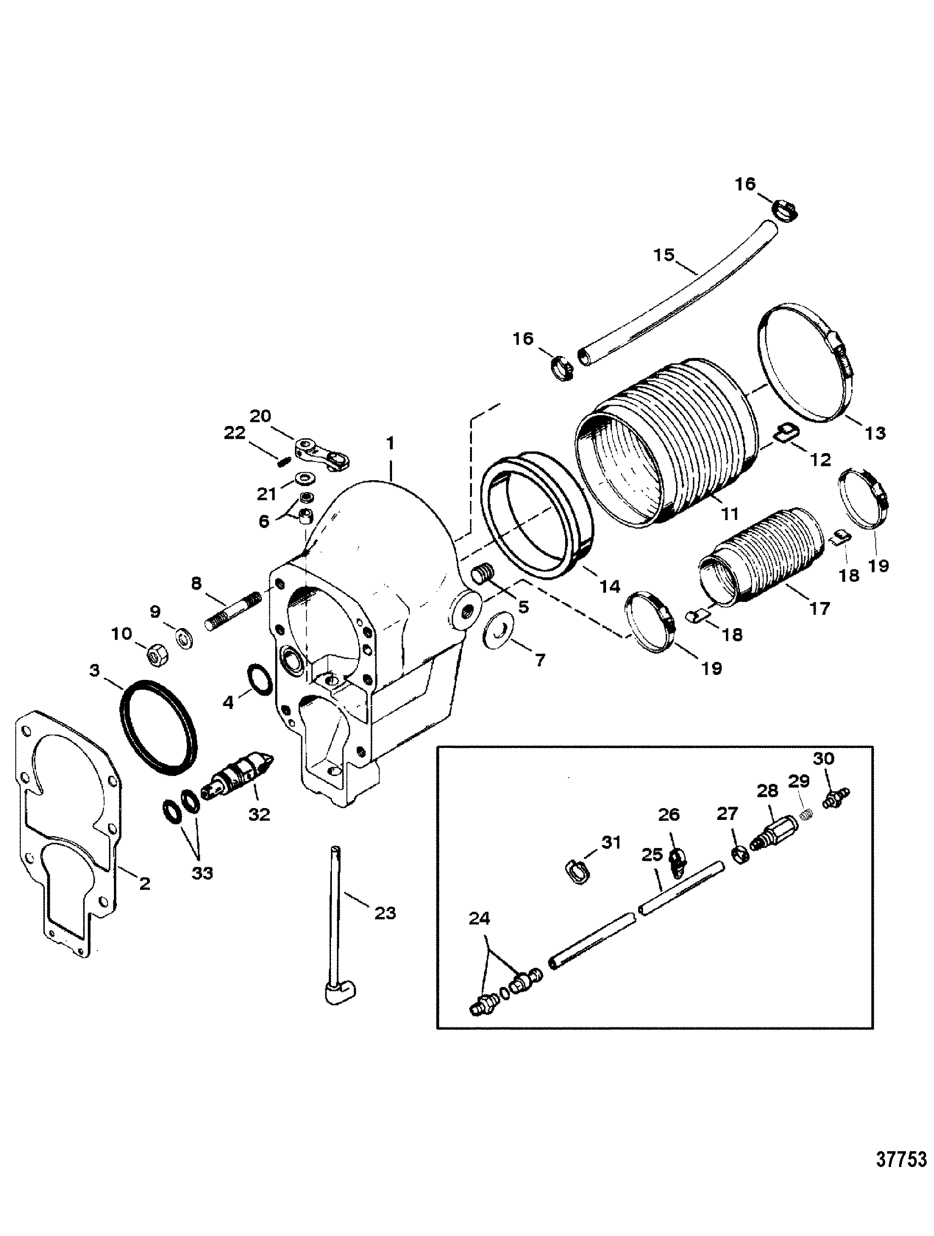 Outdrive Schematic
