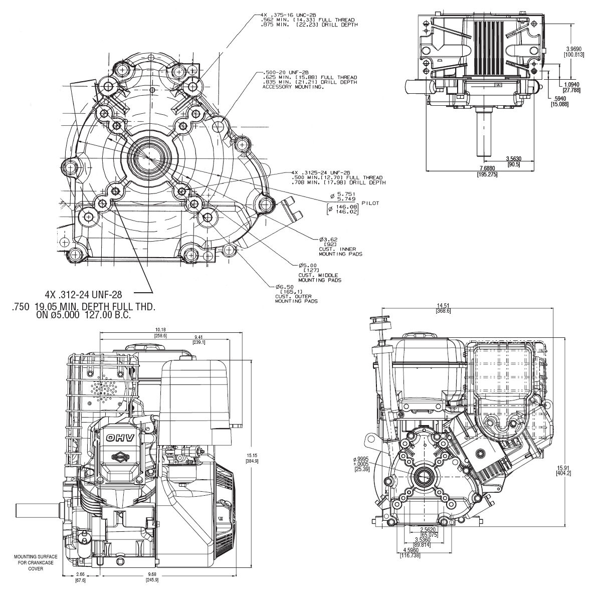 Briggs And Stratton 500 Series Parts Diagram