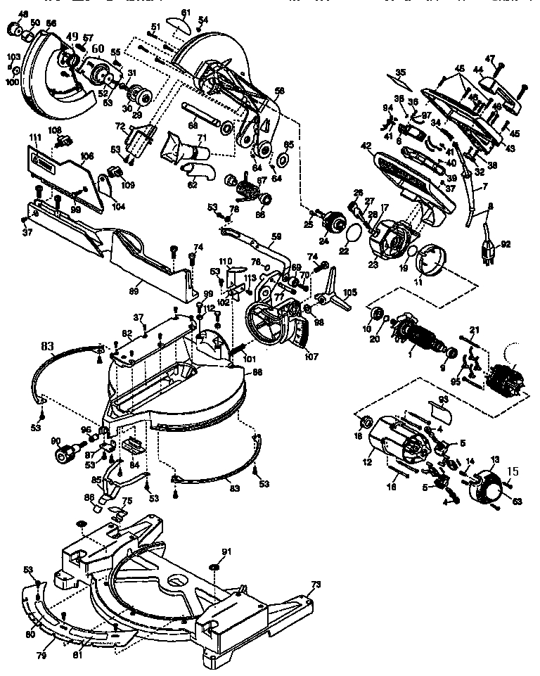 Diagram Miter Saw Diagram
