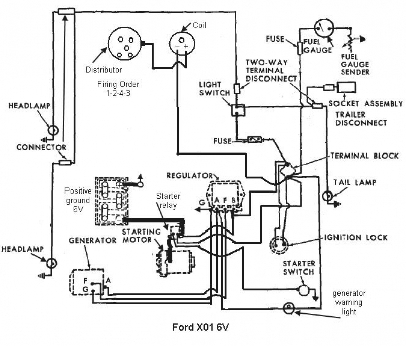 Ford 3000 Tractor Steering Diagram