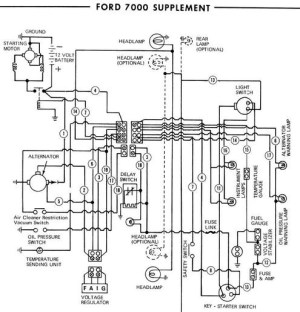 WIRING DIAGRAM FOR A 3910 FORD TRACTOR  Auto Electrical Wiring Diagram