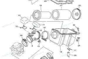 Yamaha Grizzly 600 Parts Diagram | Automotive Parts