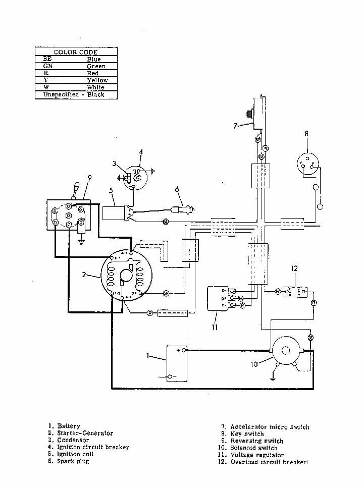 Hyundai G1 Gas Golf Cart Wiring Diagram. Hyundai. Auto